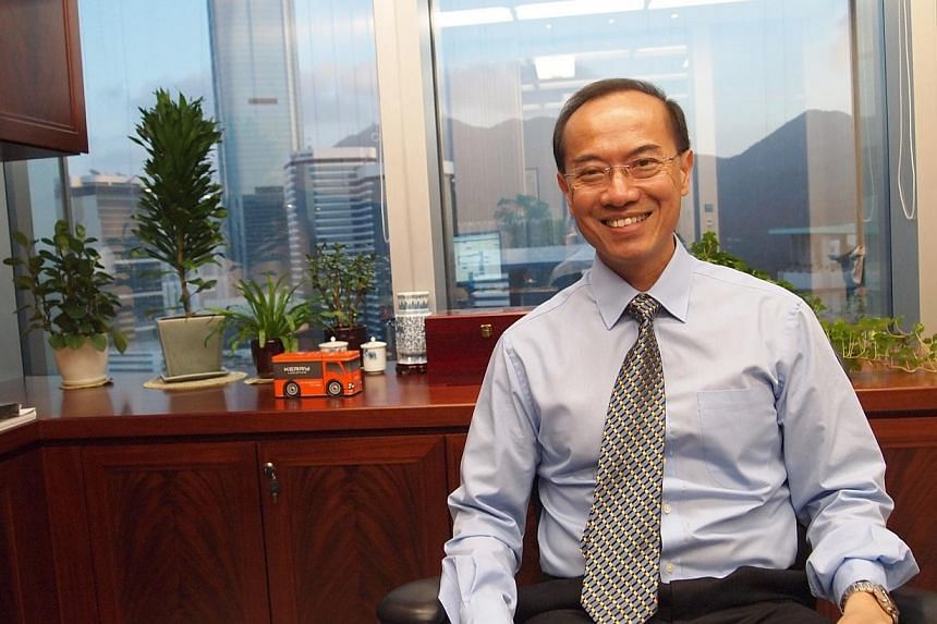 Former Foreign Affairs Minister George Yeo, now vice-chairman of the Kerry Group, in his office on the 31st floor of the Kerry Centre in Hong Kong on Oct 10, 2012. Mr Yeo has joined the Singapore Manufacturing Federation's (SMF) inaugural b