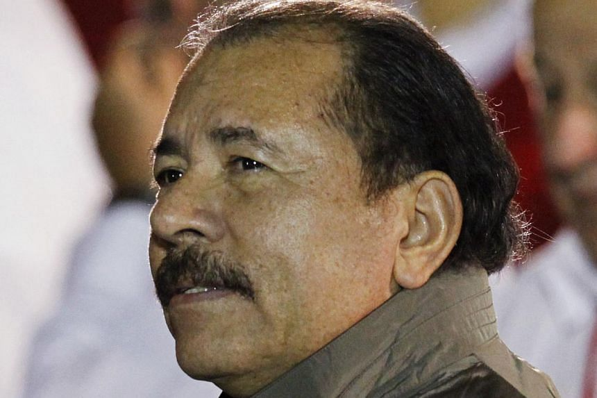 Nicaragua's Congress on Tuesday, Jan 28, 2013, ratified a controversial Constitutional amendment scrapping presidential term limits and paving the way for President Daniel Ortega (above) to seek re-election in 2016. -- PHOTO: REUTERS
