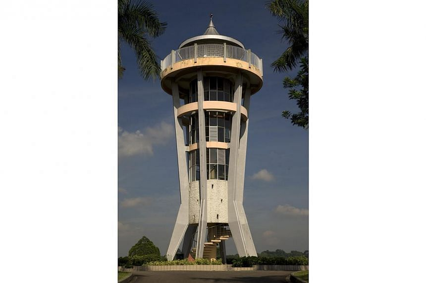 Lookout Tower at Seletar Reservoir Park has been named by Urban Redevelopment Authority (URA) as one of the twelve iconic structures in its conservation efforts to cover towers, bridges and structures other than buildings for the first time. -- FILE
