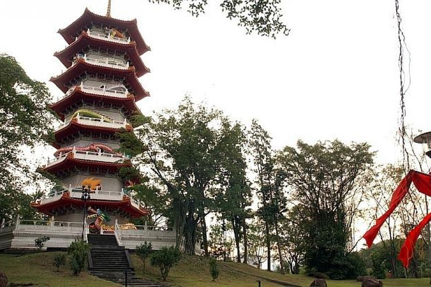 The 14ha Chinese Gardens, styled after the Song dynasty gardens, is best-known for its seven-storey pagoda which is modelled on the Ling Ku Temple Pagoda in Nanjing, China. -- ST FILE PHOTO: SHAHRIYA YAHAYA