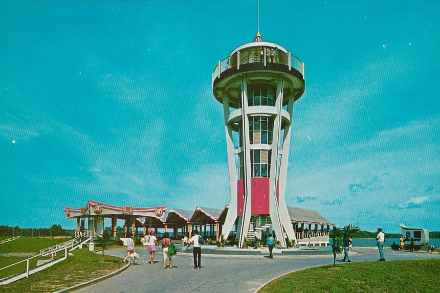 Lookout Tower at Seletar Reservoir Park has been named by Urban Redevelopment Authority (URA) as one of the twelve iconic structures in its conservation efforts to cover towers, bridges and structures other than buildings for the first time. -- PHOTO