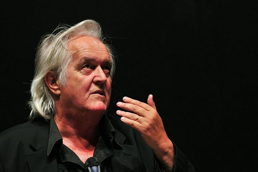 A photo taken on June 3, 2010, in Berlin shows Swedish author Henning Mankell during a press conference.The Swedish crime writer behind the Wallander series made into a high-rating British TV series revealed on Wednesday, Jan 29, 2014, he had c