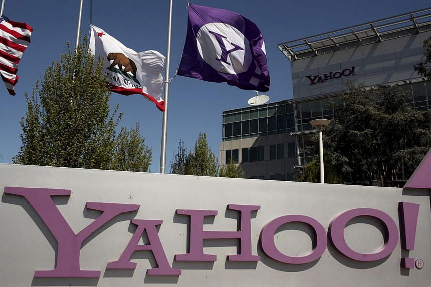 Yahoo Inc reported US$1.2 billion (S$1.5 billion) in net revenue in the fourth quarter, compared to US$1.22 billion in the year-ago period. -- FILE PHOTO: REUTERS