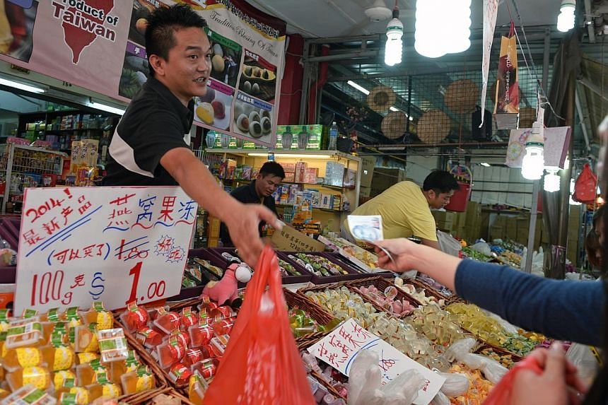 The number of NEA inspections over this festive season has gone up by 27 per cent compared to that period in 2012. Separately, Spring Singapore officers have tested the accuracy of weighing scales and measuring instruments used in Chinatown, includin