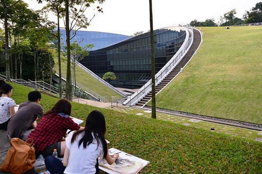 The Nanyang Technological University has retained its second spot in a ranking released on Thursday of the top 50 universities under 50 years old. -- PHOTO: NTU VIA FACEBOOK