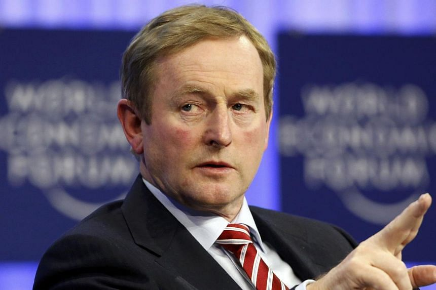 Ireland's Prime Minister Enda Kenny apologised on Thursday, Jan 30, 2014, to a woman who suffered sexual abuse by a teacher while at a Catholic-run school in 1973, after a European court ruled the state had failed to protect her. -- FILE PHOTO: REUTE