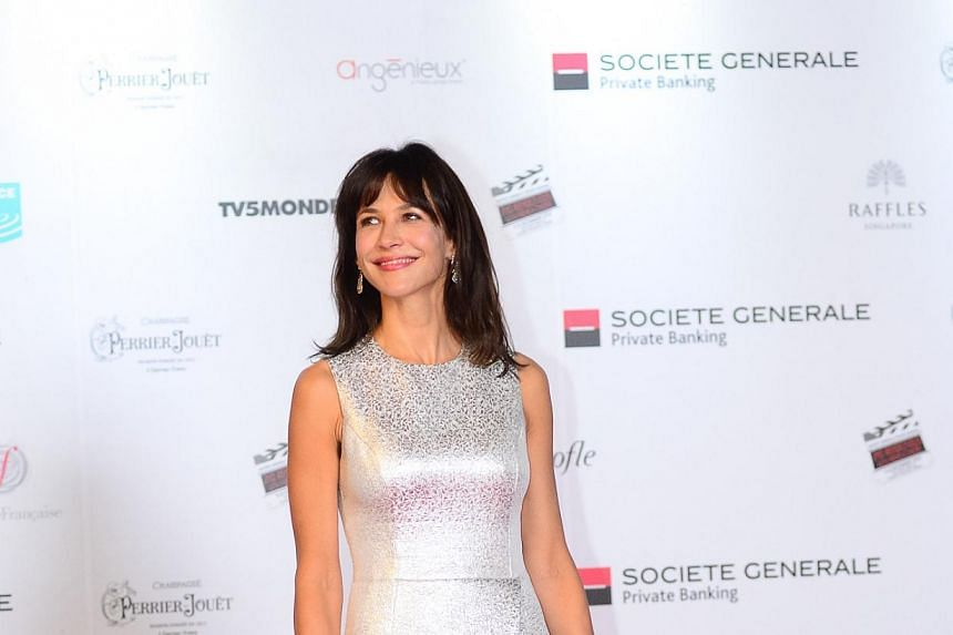 "French actress Sophie Marceau. French actress Sophie Marceau was to sing ""La Vie En Rose"" on Chinese state broadcaster CCTV's New Year gala, on Thursday, Jan 30, 2014, a show watched by hundreds of millions of people. -- FILE PHOTO: PHISH C"