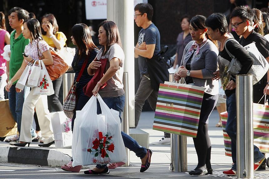 The number of consumer complaints reached a record high last year, with 29.254 complaints received by the Consumers Association of Singapore, an increase of 13.7 per cent from 2012. -- ST FILE PHOTO: TED CHEN