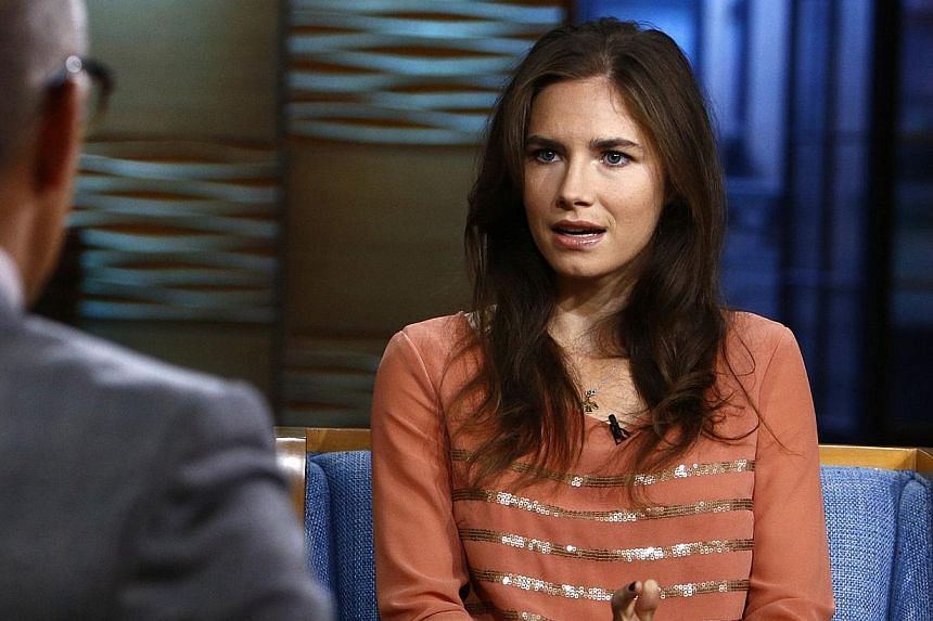 """Amanda Knox lamented on Thursday what she called the """"unjust"""" verdict handed down by an Italian court that reconvicted her for the 2007 murder of her British housemate Meredith Kercher. -- FILE PHOTO: REUTERS"""