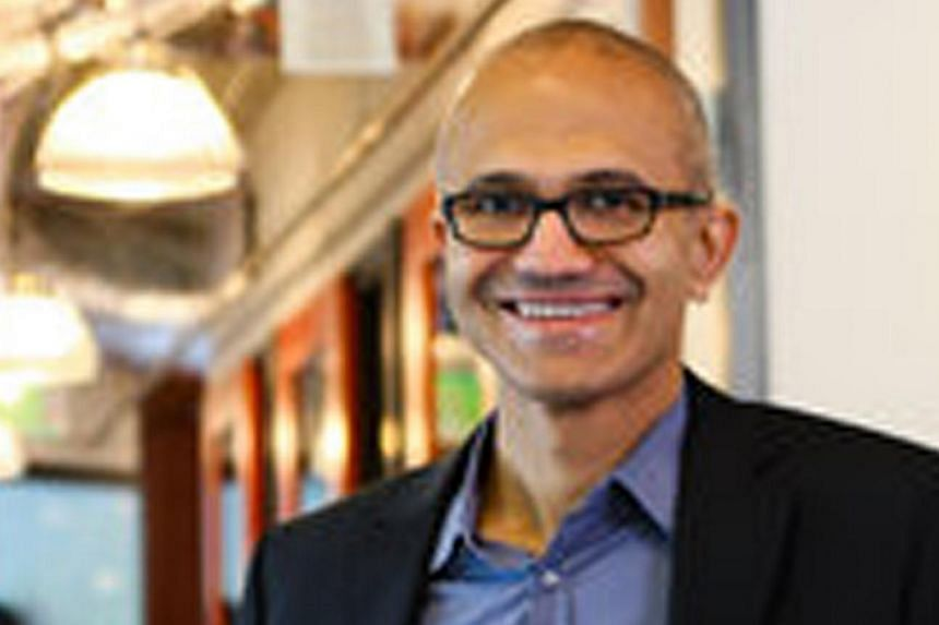Microsoft Corp's board is preparing to name internal executive Satya Nadella(above) as the software company's next chief executive, Bloomberg reported on Thursday, citing unnamed sources it said were briefed on the CEO search process. -- PHOTO: THE N
