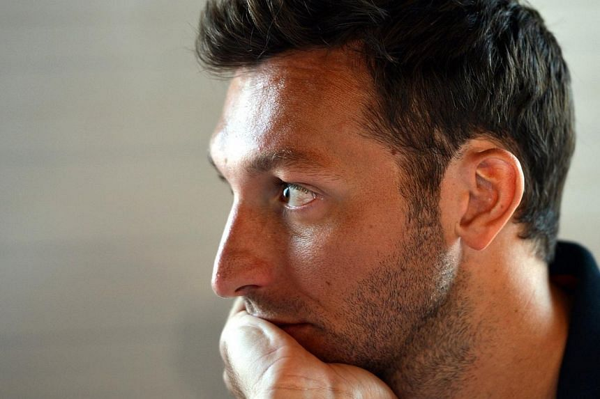 Swimmer Ian Thorpe of Australia speaks with reporters during a press conference near the Olympic Stadium in London in this file photo taken on July 26, 2012. Five-time Olympic swimming gold medallist Thorpe has been admitted to a Sydney hospital batt