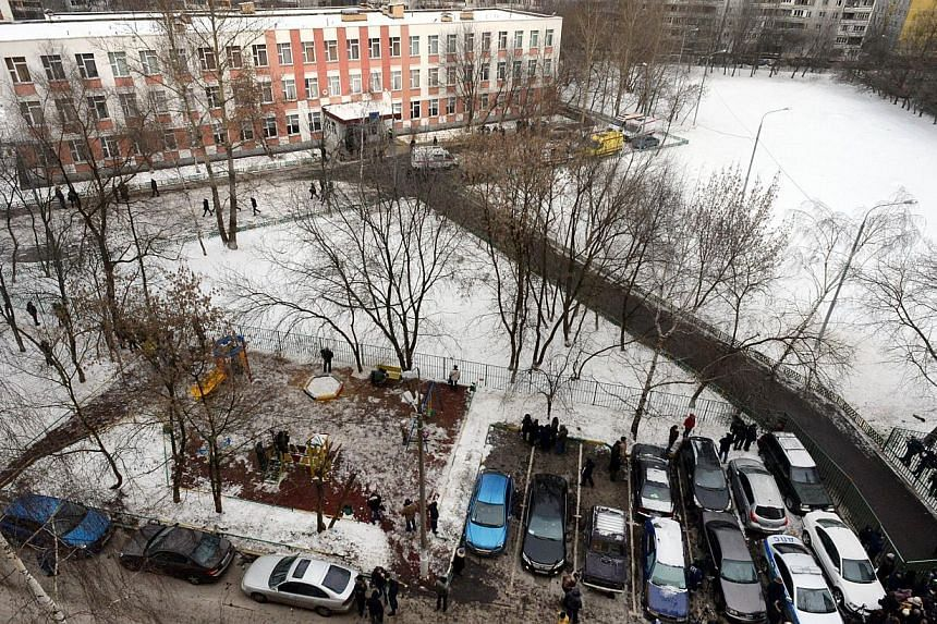 A general view of Moscow school number 263, on Feb 3, 2014. -- PHOTO: AFP
