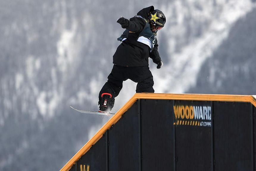 Torstein Horgmo of Norway rides to second place in the men's FIS Snowboard Slopestyle World Cup at the US Snowboarding and Freeskiing Grand Prix, on Dec 22, 2013, in Copper Mountain, Colorado. Norway snowboarding medal hope Torstein Horgmo broke his