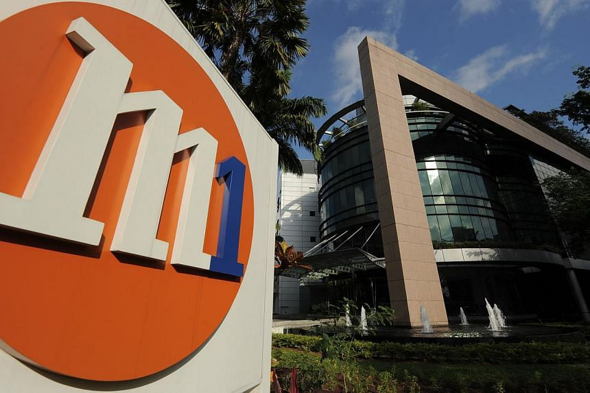 Telco M1 has posted a notice on Facebook acknowledging that some of its customers may be experiencing difficulties sending text messages or making voice calls. -- FILE PHOTO: M1 LIMITED
