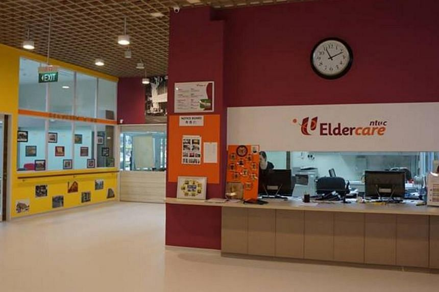 More people are opting to be cared for at home and service providers are stepping up to meet the demand.-- PHOTO: NTUC ELDERCARE VIA FACEBOOK