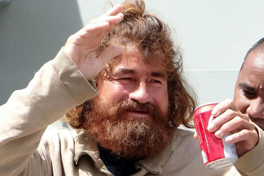 Fisherman Jose Salvador Alvarenga (pictured),who says he survived 13 months adrift in the Pacific, said on Tuesday, Feb 4, 2014, he thought about suicide but was sustained by dreams of eating his favourite food - tortillas - and reuniting with