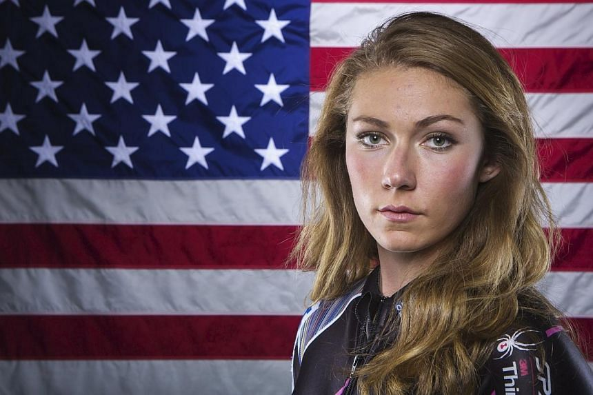 Olympic alpine skier Mikaela Shiffrin poses for a portrait during the 2013 US Olympic Team Media Summit in Park City, Utah on Oct 2, 2013. The absence of media princess and reigning Olympic downhill champion Lindsey Vonn has dominated the build-up to