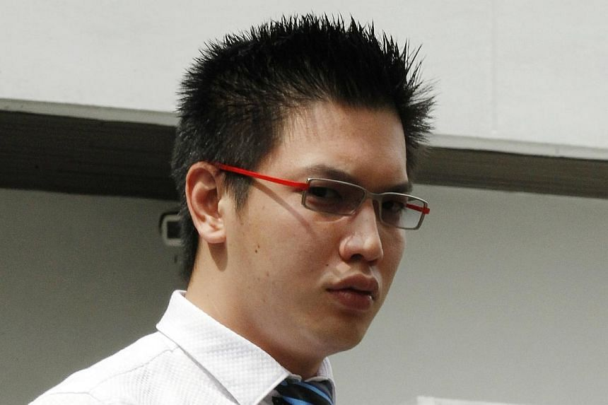 Operations manager of Pet Movers Tan Moh Tien, 26, was jailed for six months on Tuesday, Feb 4, 2014, for misappropriating an Agri-Food & Veterinary Authority (AVA) rubber stamp and committing forgery. -- ST PHOTO:&n