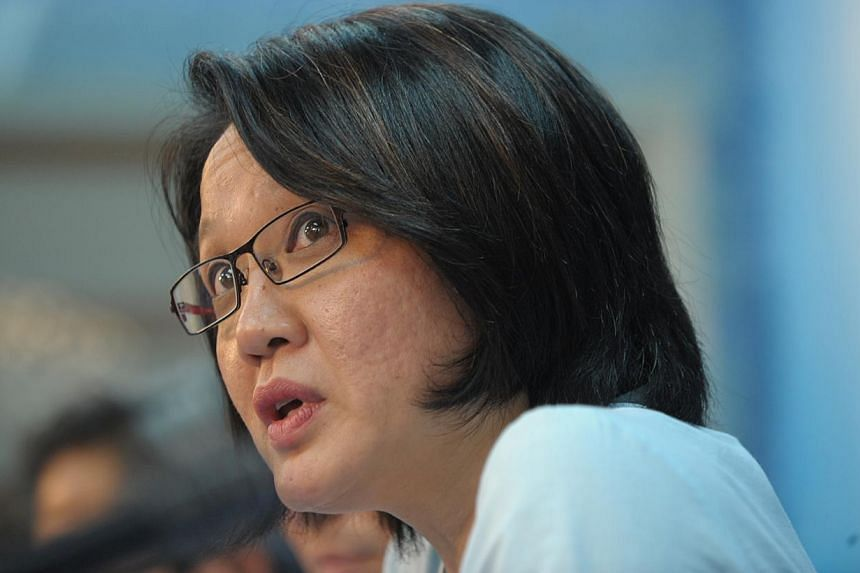 Aljunied-Hougang-Punggol East Town Council (AHPETC) chairman Sylvia Lim said yesterday it was not picking a fight or engaging in a tit-for-tat exchange with the People's Association (PA) and merchants' association in a dispute over a Chinese New Year