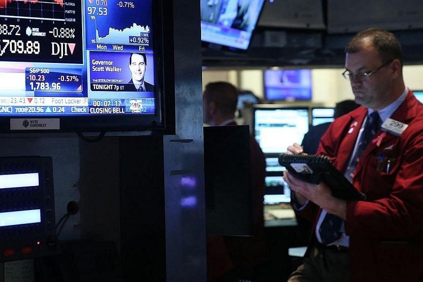 United States (US) stocks slumped on Monday, with the S&P 500 suffering its worst drop since June, after weaker-than-expected data on the factory sector in the world's largest economy provided investors with the latest reason to move away from ri