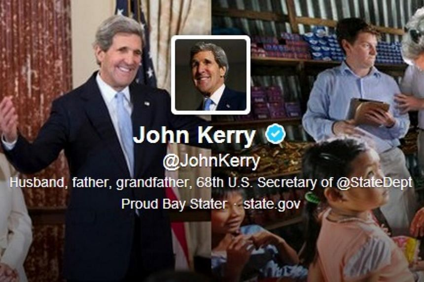 """A year into the job US Secretary of State John Kerry has relaunched his Twitter account with the aim of reaching out to make """"foreign policy less foreign."""" """"It only took a year but @StateDept finally let me have my own @twitter account. #JKTweetsAgai"""