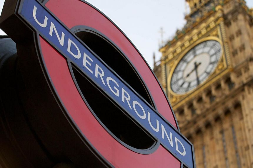 Millions of commuters in London faced travel chaos on Wednesday, Feb 5, 2014, on the first full day of a 48-hour tube strike by London Underground staff over planned job cuts and the closure of ticket offices. -- PHOTO: AFP