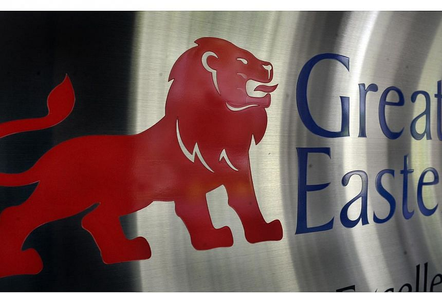 Insurer Great Eastern has reported a 26 per cent drop in its fourth-quarter net profit over the previous year to $165.9 million. -- BT FILE PHOTO: ARTHUR LEE CH