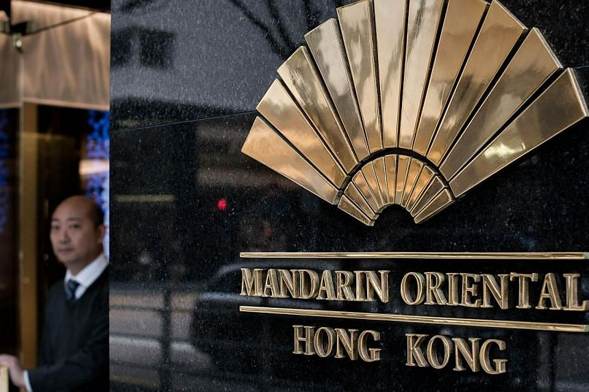 """Hong Kong's Mandarin Oriental hotel stirred up ridicule on Friday, Feb 7, 2014 with an afternoon tea promotion for men based on pork pies and beef rather than dainty snacks """"normally preserved for women"""". -- PHOTO: AFP"""