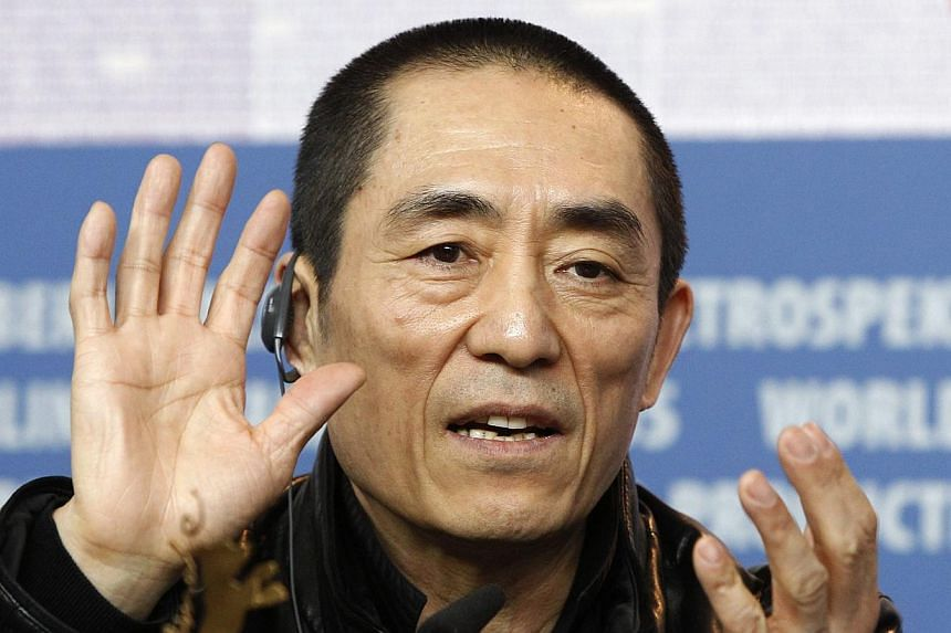 China's best-known film director Zhang Yimou has paid 7.5 million yuan (S$1.6 million) for violating the one-child policy, officials said on Friday, Feb 7, 2014, closing a case that had attracted widespread attention. -- FILE PHOTO: REUTERS
