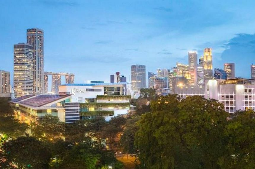 Students with disabilities and special needs can soon look forward to having greater support and interaction at the Singapore Management University. -- PHOTO: SMU VIA FACEBOOK