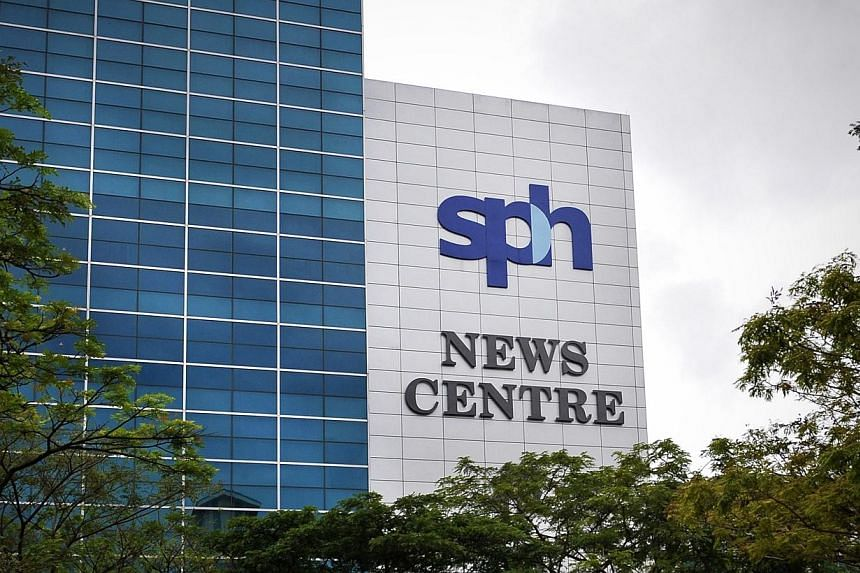 Singapore Press Holdings (SPH) is celebrating its 30th anniversary this year. -- ST FILE PHOTO:ALPHONSUS CHERN