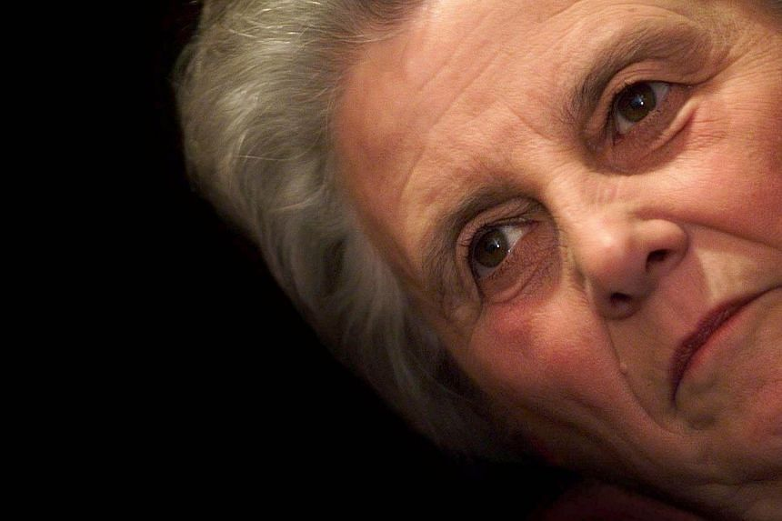 A picture taken on March 3, 1999, shows late Dutch former health minister Els Borst looking on in The Hague. Borst died on Feb 10, 2014, aged 81.-- FILE PHOTO: AFP