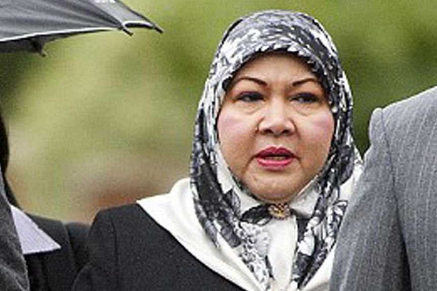 """Madam Mariam Aziz, 57, is the former wife of the Sultan of Brunei Hassanal Bolkiah. Described as being """"extremely wealthy"""", she owns properties in Leicestershire and Kensington in Britain as well as in Singapore. -- FILE PHOTO: CENTRAL NEWS"""