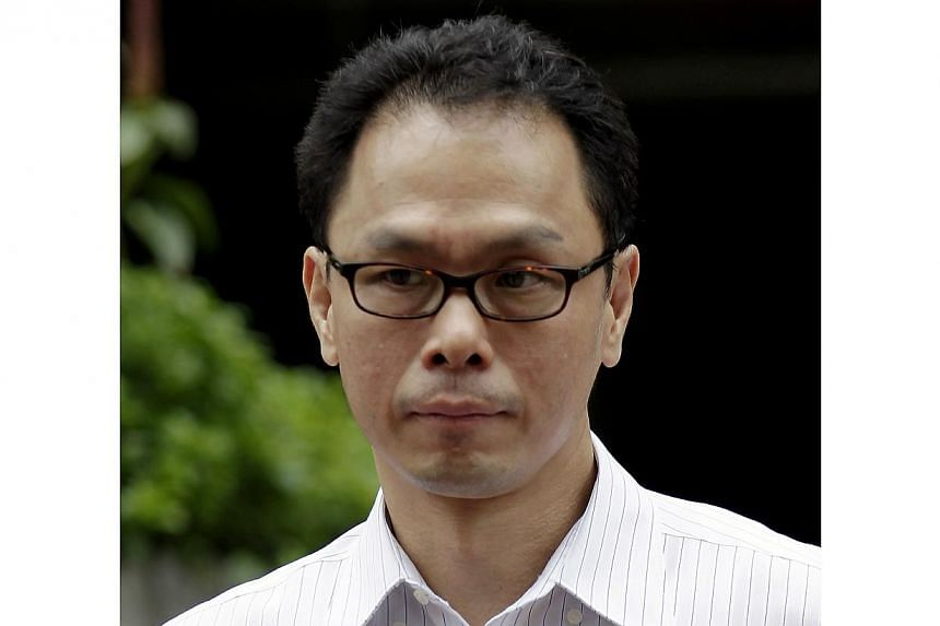 Former Central Narcotics Bureau (CNB) chief Ng Boon Gay leaving the Court on Nov 19, 2012. Mr Ng will join security company Certis Cisco as a consultant next month. -- ST FILE PHOTO: WONG KWAI CHOW