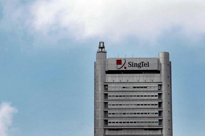 Singapore Telecom (SingTel) said Thursday its net profit rose 6 per cent year on year in January-December, but a strong local dollar pared down overseas earnings. -- ST FILE PHOTO: NEO XIAOBIN