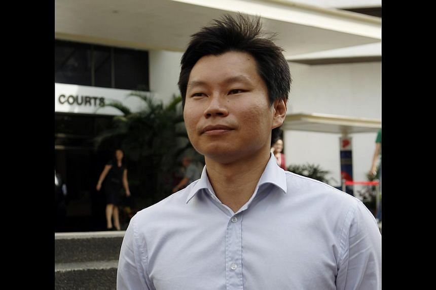 NParks assistant director Bernard Lim Yong Soon leaving the Subordinate Courts on Aug 29, 2013.The National Parks Board (NParks) officer behind the Brompton bicycle procurement fiasco in 2012 will go on trial next month. -- ST FILE PHOTO: