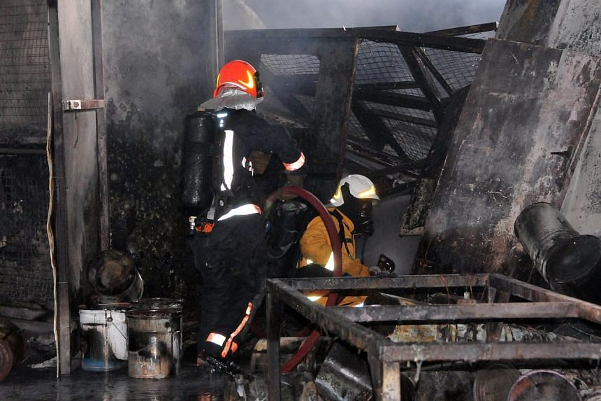 Fire incidents hit a 20-year low last year, with a total of 4,136 cases, down from 4,485 cases in 2012, said the Singapore Civil Defence Force (SCDF) in its annual statistics release. -- FILE PHOTO:SCDF