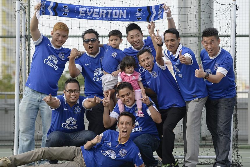 The Singapore Everton Supporters Club wishes to participate in the ST Sports Contest to play at Anfield (Liverpool's stadium), despite the great rivalry between the Merseyside clubs.