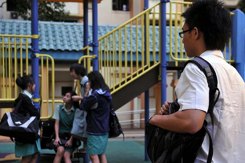 Singapore teens are just not active enough and this could lead to health problems when they become adults, a National Institute of Education (NIE) study has found. -- ST FILE PHOTO: AIDAH RAUF