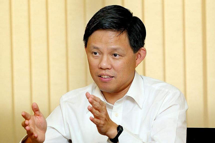 Put values before material wealth, and appreciate the elderly in society, Minister for Social and Family Development Chan Chun Sing (pictured) said at a symposium for students on Saturday, Feb 15, 2014. -- ST FILE PHOTO: LAU FOOK KONG