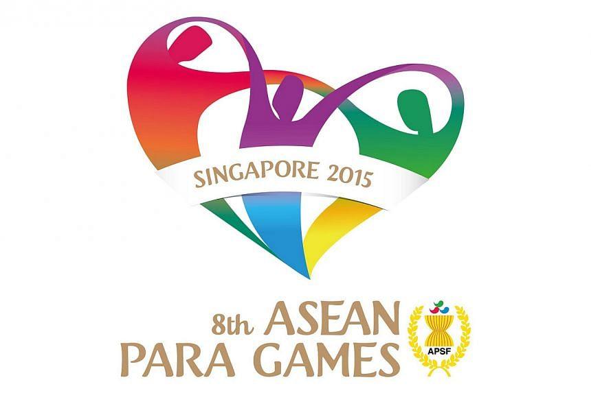 Logo for the 2015 Asean Para Games. --PHOTO:SINGAPORE SEA GAMES ORGANISING COMMITTEE