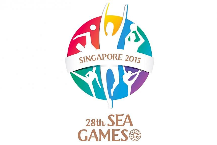 Logo for the 2015 Singapore SEA Games.The countdown to the event started on Saturday evening, at a launch party held at Gardens by the Bay. -- PHOTO:SINGAPORE SEA GAMES ORGANISING COMMITTEE