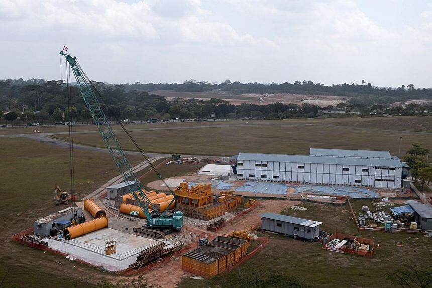 The plot of land which will be used to build the new Woodlands General Hospital, taken on Feb 15, 2014. A new integrated health-care complex, which includes an acute care hospital, community hospital and nursing home, will open in phases from 20