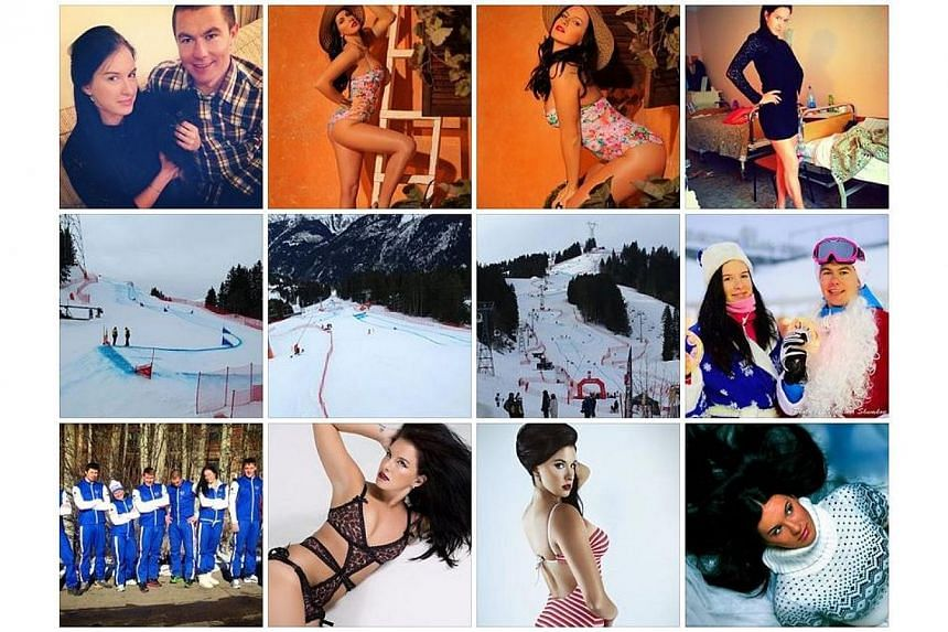 Photos on Maria Komissarova's Facebook page. The Russian freestyle skier was seriously injured on Saturday, Feb 15, 2014, while training on the Sochi Olympic course for the ski-cross event, the Russian freestyle federation said.-- PHOTO: FACEBO