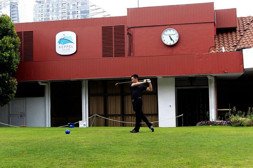 Tucked away in Telok Blangah, Keppel Club has a history dating back to over 100 years. -- ST FILE PHOTO: CHEW SENG KIM