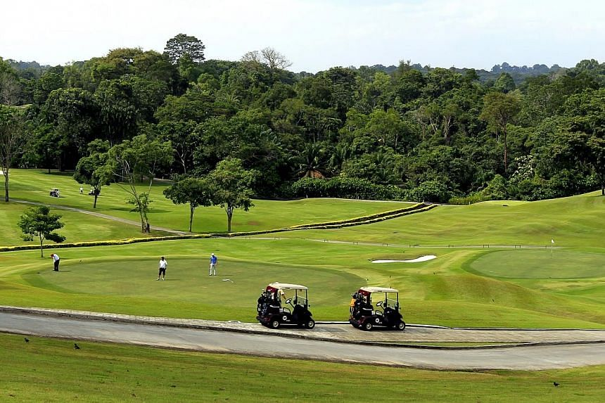 Keppel Club will be the first private golf club in Singapore not to get its lease renewed when it runs out in 2021. -- ST FILE PHOTO: CHEW SENG KIM