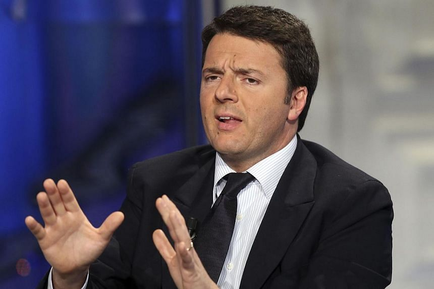 Florence mayor Matteo Renzi, poised to become Italy's youngest-ever prime minister after the ouster of Enrico Letta, ran into stumbling blocks on Sunday, Feb 16, 2014, as he tried to shore up support for a new coalition government. -- FILE PHOTO: REU