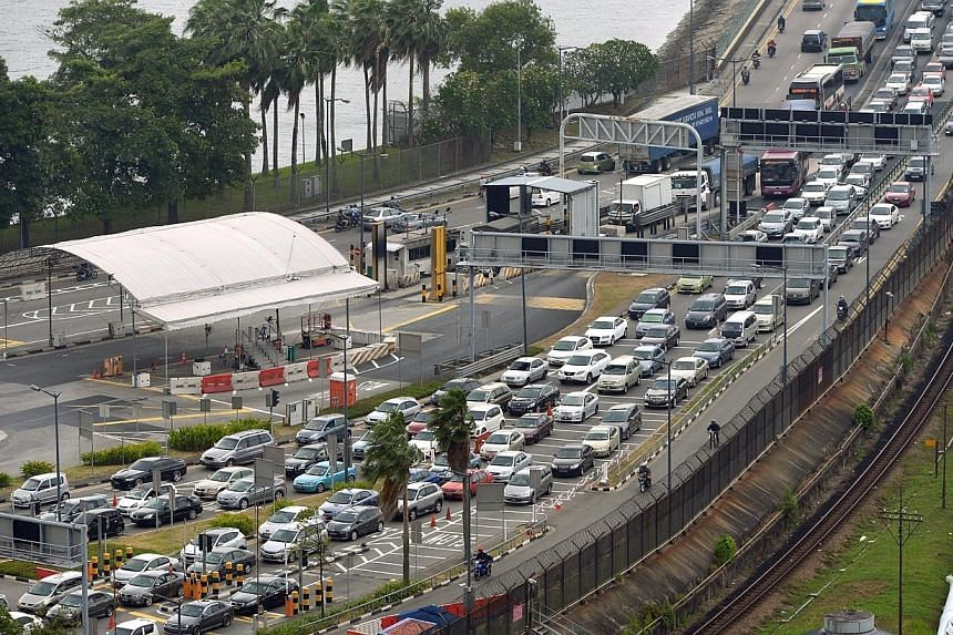 Immigration and police officers did not follow protocol and made an error of judgment by classifying the breach of border security by a Malaysian teacher as a less serious immigration offence.-- ST FILE PHOTO:LIM SIN THAI