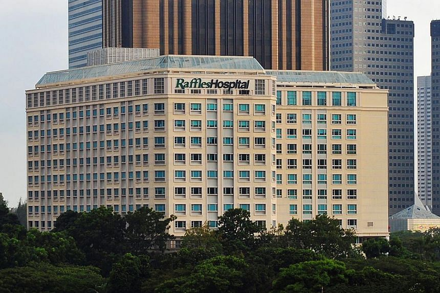 Raffles Hospital will be offering free FOBT (Faecal Occult Blood Test) screenings from Feb 18 to April 30 to people aged 50 and above to help in the testing of colorectal cancer. -- ST FILE PHOTO:ALPHONSUS CHERN