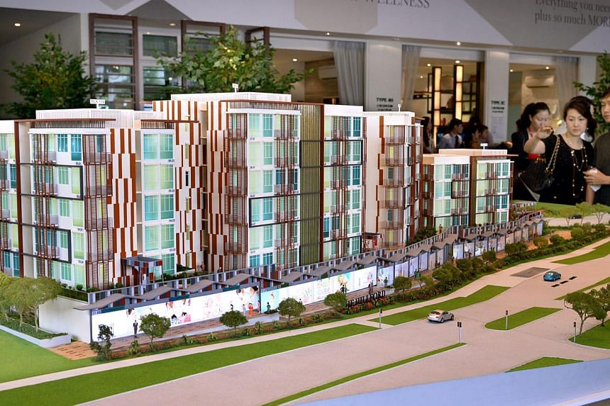 Launch of Singapore's first retirement resort The Hillford, by World Class Land. -- ST FILE PHOTO: LIM SIN THAI